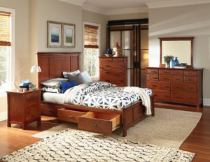 Whittier Bedroom Furniture at the Wooden Chair