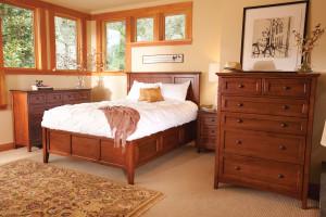 Whittier Wood Furniture McKenzie Bedroom Suite with Storage Bed