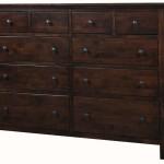 Archbold Alder Heritage 10 Drawer Dresser