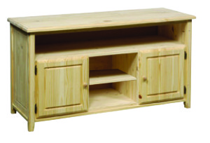 Archbold Pine Ready-to-Finish Entertainment Cabinet