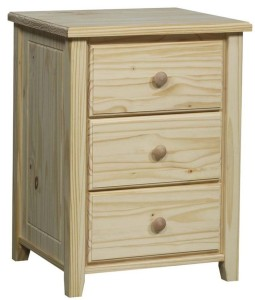 Archbold Pine Ready-to-Finish Nightstand