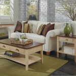 WhiteWood Cottage Oak Whitewash Spencer Living Room Set