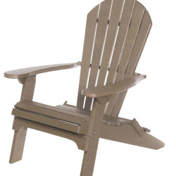 Backyard Folding Adirondack Chair