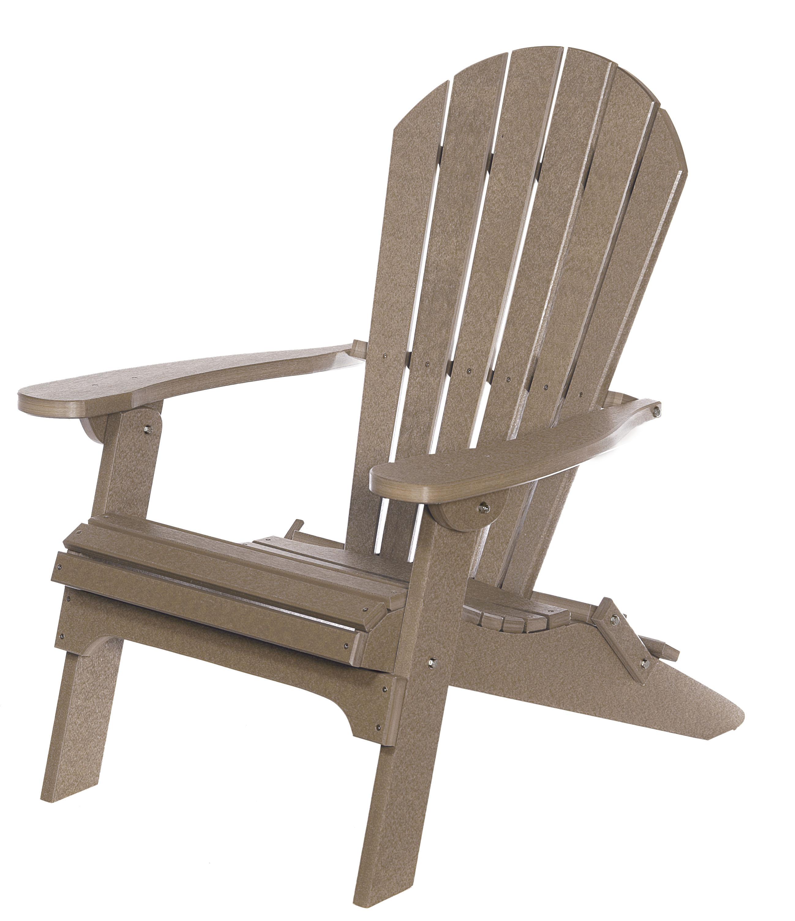 Backyard Folding Adirondack Chair