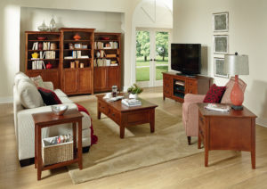 Whittier living room furniture set at the Wooden Chair